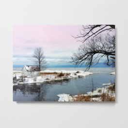 Ice Beach Metal Print