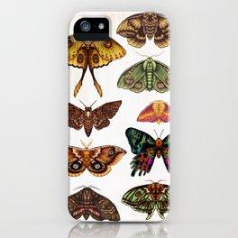 Moth Wings III iPhone Case