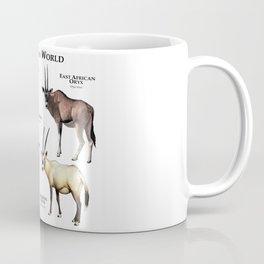 Oryx of the World Coffee Mug