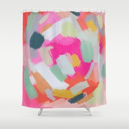 Abstract Day 10 Shower Curtain