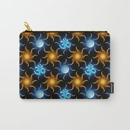 Cosmic Om. Pattern Carry-All Pouch