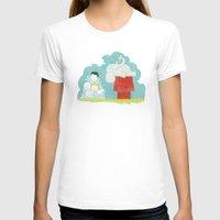 peanuts T-shirts featuring Elephants Love Peanuts by Teo Zirinis
