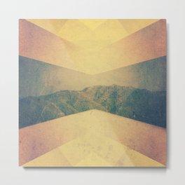 patterned hillside Metal Print