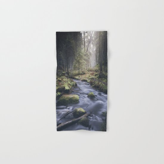 Silent whispers Hand & Bath Towel