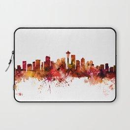 Seattle Washington Skyline Laptop Sleeve