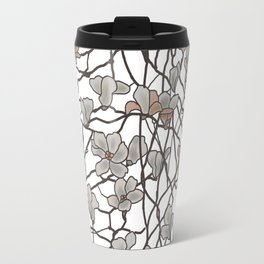 pattern of branches in pastel colors art Travel Mug