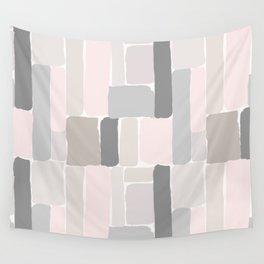 Soft Pastels Composition 2 Wall Tapestry