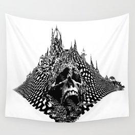 Skull Mountain Wall Tapestry