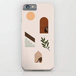 Hide and Seek Dachshund iPhone Case