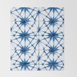 Shibori Tie Dye Pattern Throw Blanket