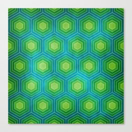 HEX - WATER Canvas Print