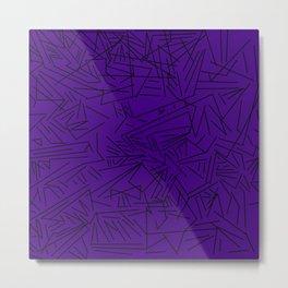 Geometric crazy Metal Print