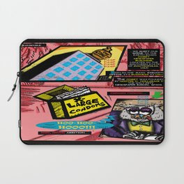 Bird of Steel Comix - Page #3 of 8 (Society 6 POP-ART COLLECTION SERIES)  Laptop Sleeve