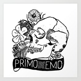 Primo Emo Art Print