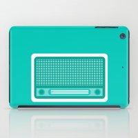 radio iPad Cases featuring radio by brittcorry