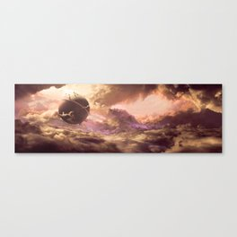 DragonBall Photoreal Series: Kaioh's planet Canvas Print