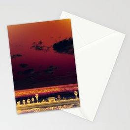 cardiff by the sea Stationery Cards