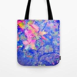Flowering Tree Water Color Tote Bag