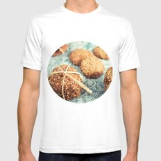 Cookies Mens Fitted Tee White MEDIUM