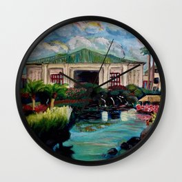 Kauai Grand Hyatt Resort Wall Clock