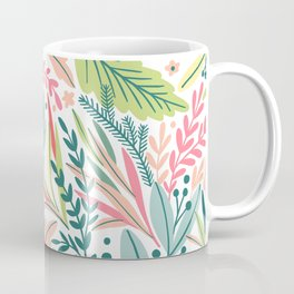 Tropical Leaves Pattern  Coffee Mug