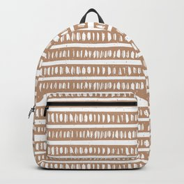 Mudcloth Lines | Driftwood Backpack