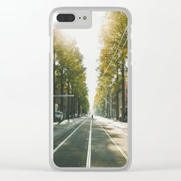 Amsterdam City Clear iPhone Case