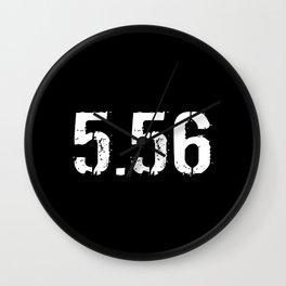 5.56 Ammo Wall Clock