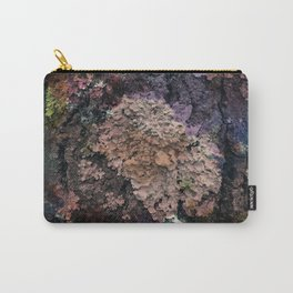 Colored lichens Carry-All Pouch