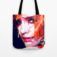 emma watson Tote Bags featuring Emma Watson Vector by Raditya Giga