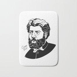 Georges Bizet Bath Mat