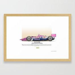 #22 LOLA - 1993 - T9300 - Brayton Framed Art Print