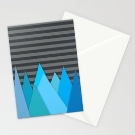 Blue Attack Stationery Cards