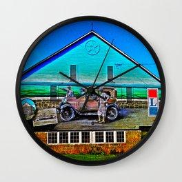 Lincoln Highway Barn Wall Clock