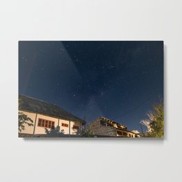 Stars over Tofo Metal Print