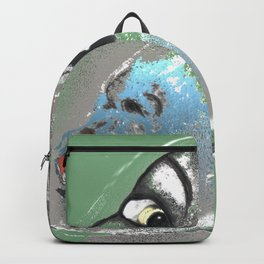 Lady Green Backpack