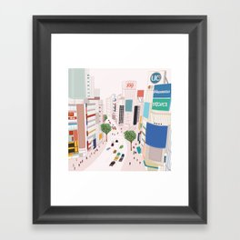 Shibuya 109 Framed Art Print