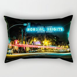 Normal Heights (San Diego) Sign - SD Signs Series #2 Rectangular Pillow