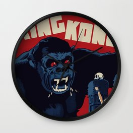 King Kong Classic Wall Clock