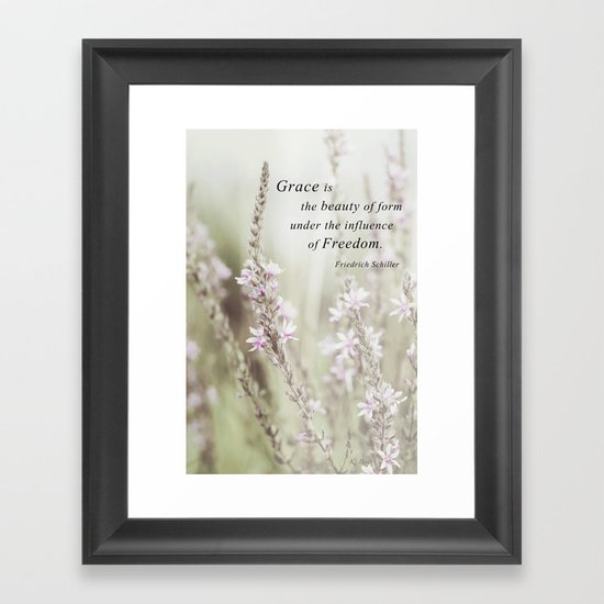The Beauty of Form Framed Art Print
