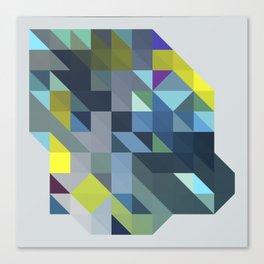 Triangulation 02 Canvas Print