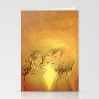 korrasami Stationery Cards featuring Korrasami by IrisPencil