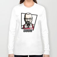 cook Long Sleeve T-shirts featuring Heisenberg Cook by Maioriz Home