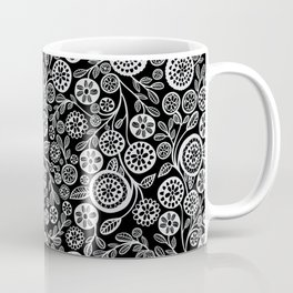 Fields of Spring Doodle Pattern Coffee Mug