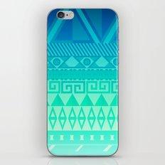 Blue Mayan iPhone & iPod Skin