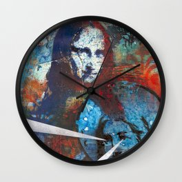 Searching for Mona Wall Clock