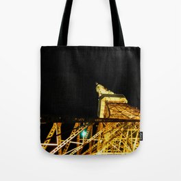 Nightly Tokyo Tower Tote Bag