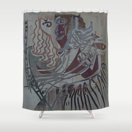 The Piano Girl 2 / Memories / Follies Collection Shower Curtain