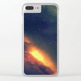Galaxy - The Beauty Of Vastness Clear iPhone Case