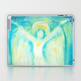 Melusina The Water Moon Goddess Laptop & iPad Skin